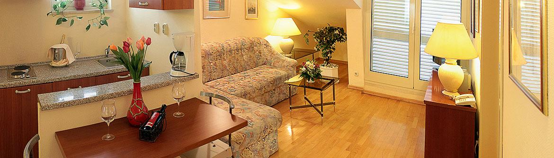 Apartment Suite in Makarska Kroatien